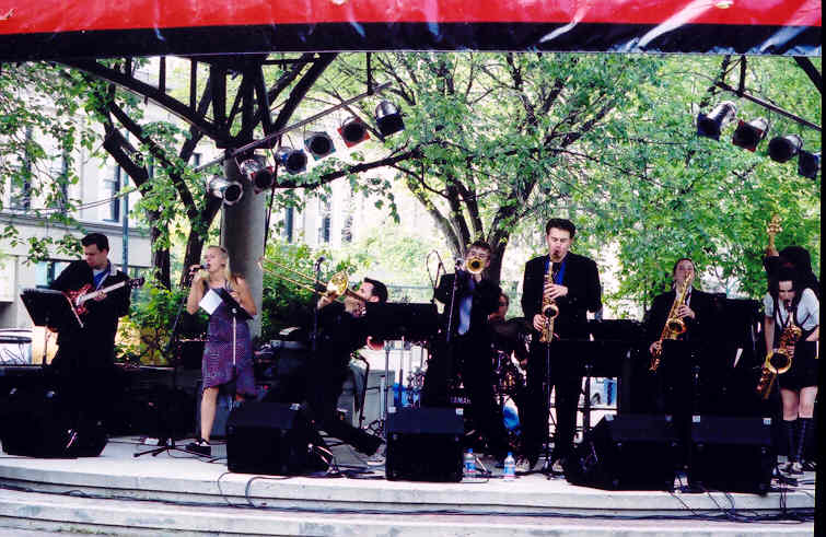 Ten Too Many at The Winnipeg Jazz Festival 2003